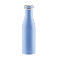LURCH Isolier-Flasche Edelstahl 0,5 l pearl-blue